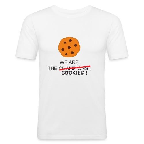 WE ARE THE COOKIES - Maglietta aderente da uomo