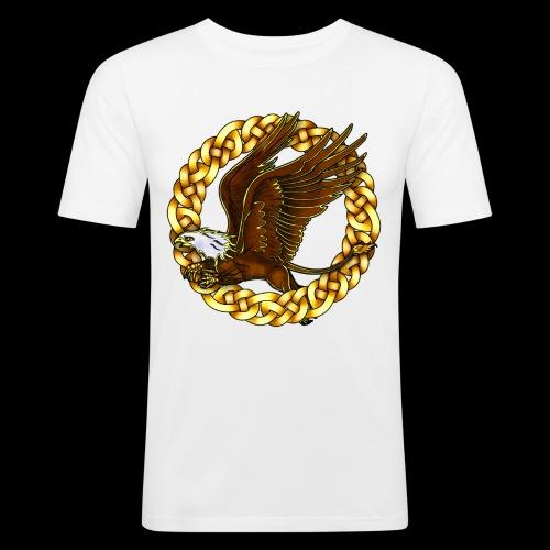Bald Gryphon - Men's Slim Fit T-Shirt