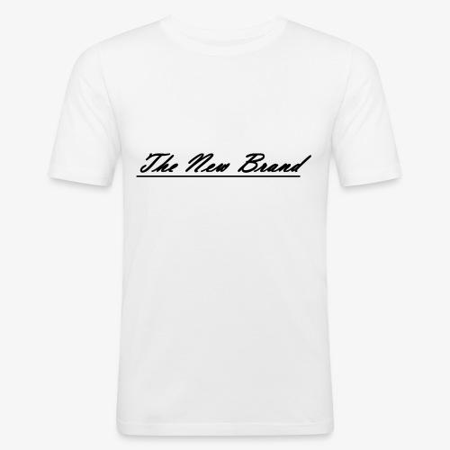 The New Brand logo black on white - slim fit T-shirt