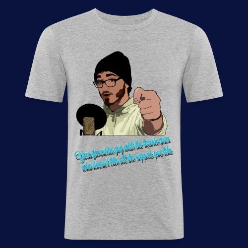 Your Favourite Beanie Man - Men's Slim Fit T-Shirt