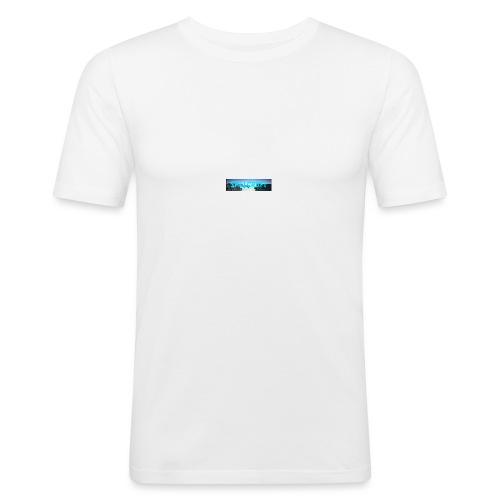 SpillCraft Logo - Slim Fit T-skjorte for menn