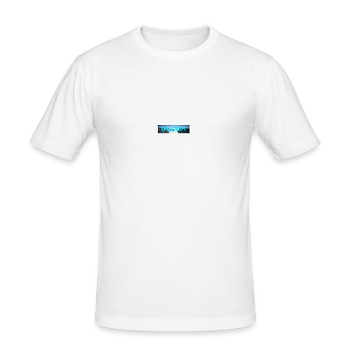 SpillCraft Logo - Slim Fit T-skjorte for menn