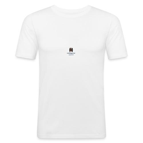 roeldegamer - Mannen slim fit T-shirt