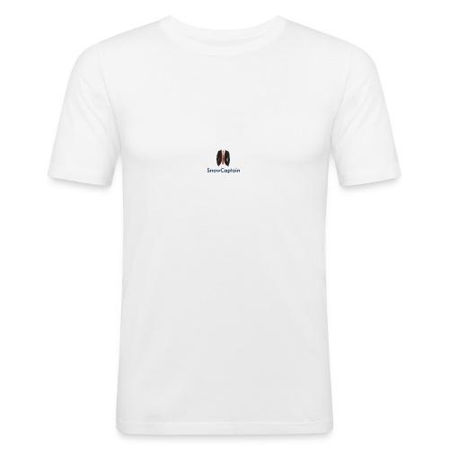 SnowCaptain - Mannen slim fit T-shirt