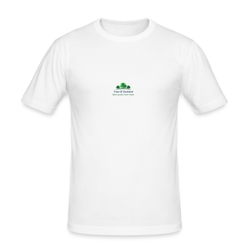 TOS logo shirt - Men's Slim Fit T-Shirt