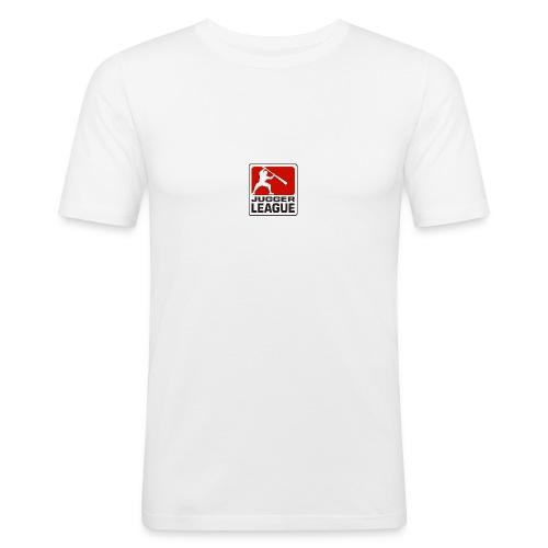 Jugger LigaLogo - Männer Slim Fit T-Shirt