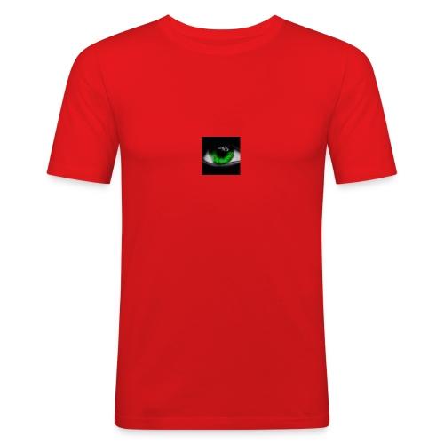 Green eye - Men's Slim Fit T-Shirt
