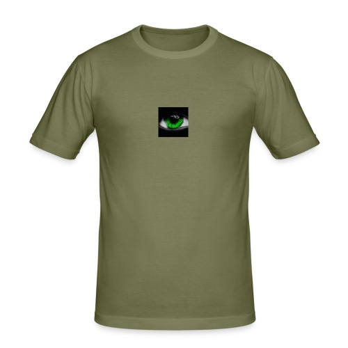 Green eye - Men's Slim Fit T-Shirt