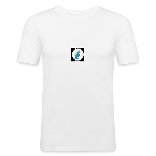 SmurfEline - Mannen slim fit T-shirt
