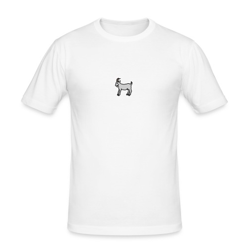 Ged T-shirt herre - Herre Slim Fit T-Shirt