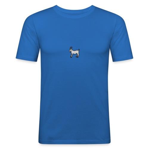 Ged T-shirt herre - Herre Slim Fit T-Shirt