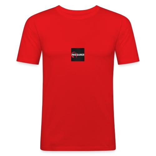 pro gamer magliette maglietta da uomo - Maglietta aderente da uomo