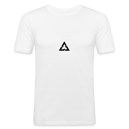 Angle Logo Brand - Maglietta aderente da uomo