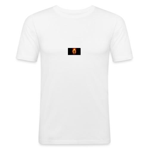 Scorched Logo - Men's Slim Fit T-Shirt