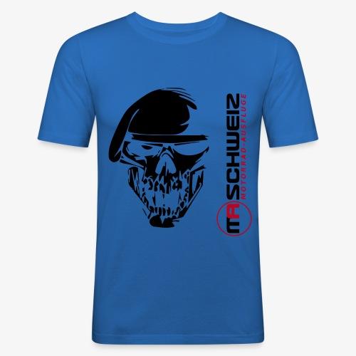 LOGO - Männer Slim Fit T-Shirt