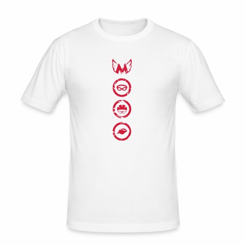 Mosso_run_swim_cycle - Maglietta aderente da uomo