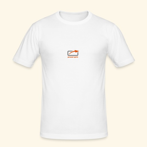 PS Logo Standard - Männer Slim Fit T-Shirt