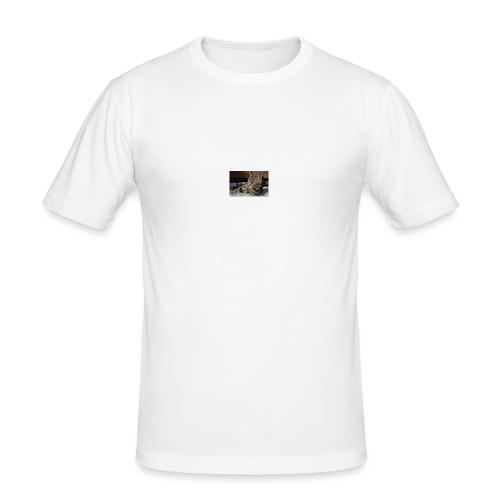 ILOVECATS Polo - Mannen slim fit T-shirt