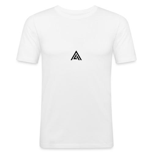 01 logo - T-shirt près du corps Homme