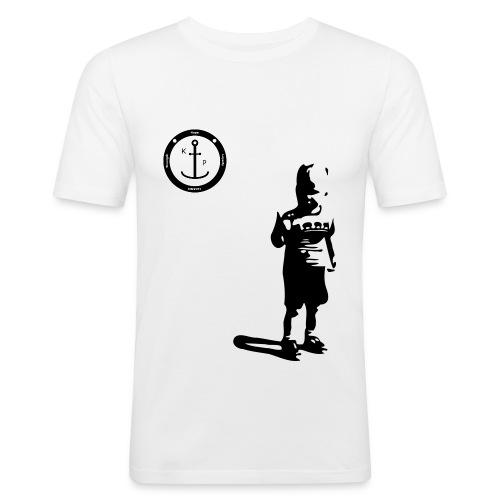 Logo2 0 - Männer Slim Fit T-Shirt