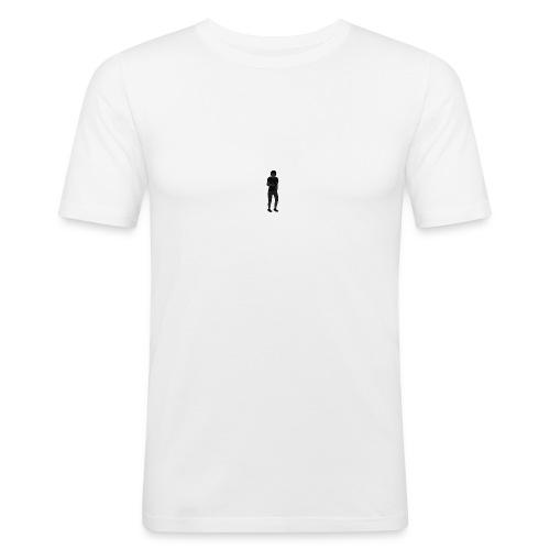 Bopgang, small logo. updated version. - Slim Fit T-skjorte for menn