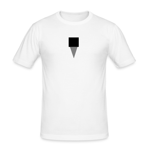 Mystery Mike Hat - Men's Slim Fit T-Shirt