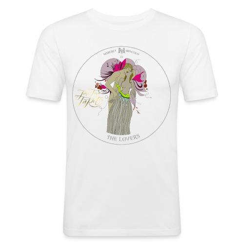 The Lovers   Die Liebenden Tarot Karte   Zwillinge - Männer Slim Fit T-Shirt