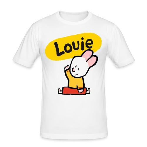 (ORIGINAL) la camiseta de Louie - Camiseta ajustada hombre