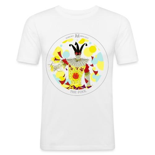 The Fool | Der Narr Tarot Karte - Männer Slim Fit T-Shirt