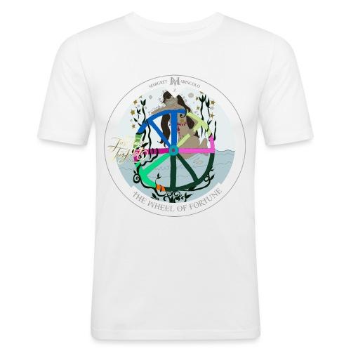 The Wheel of Fortune | Rad des Schicksals Tarot - Männer Slim Fit T-Shirt