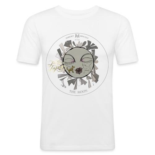 The Moon | Der Mond Tarot Karte | Fische - Männer Slim Fit T-Shirt