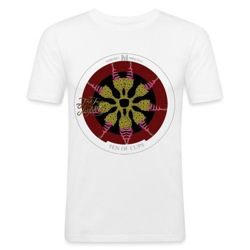 Ten of Cups   Zehn der Kelche Tarot Karte - Männer Slim Fit T-Shirt