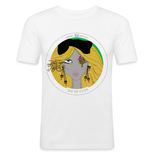 Six of Cups | Sechs der Kelche Tarot Karte - Männer Slim Fit T-Shirt