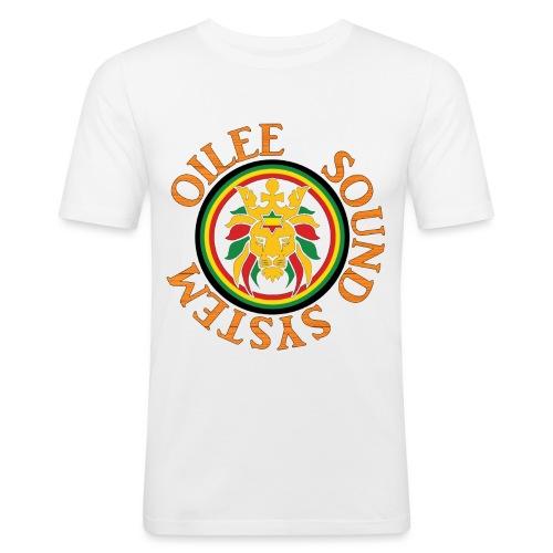 logo oilee sound - T-shirt près du corps Homme
