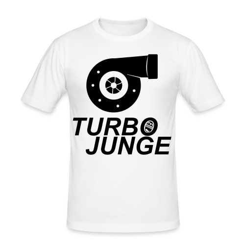 Turbojunge! - Männer Slim Fit T-Shirt