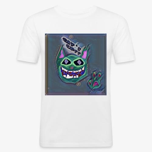 CAT´S UP? - Camiseta ajustada hombre