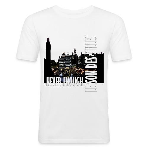 Le Son Des Villes : Vinyl by night - T-shirt près du corps Homme