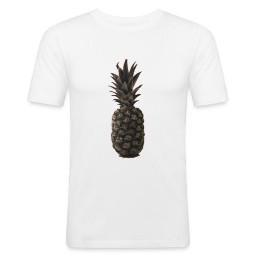 Ananas - Männer Slim Fit T-Shirt