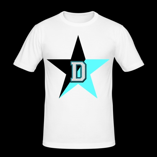 NoBeatGaming Logo - Men's Slim Fit T-Shirt