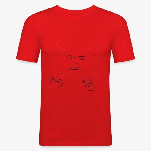 Bad Mood - Maglietta aderente da uomo