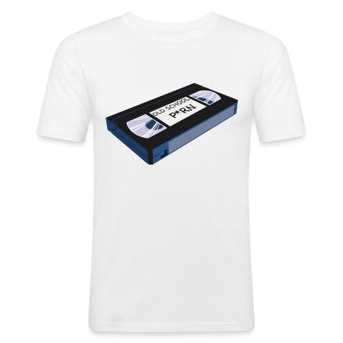 OLD SCHOOL P * RN vhs - T-shirt près du corps Homme