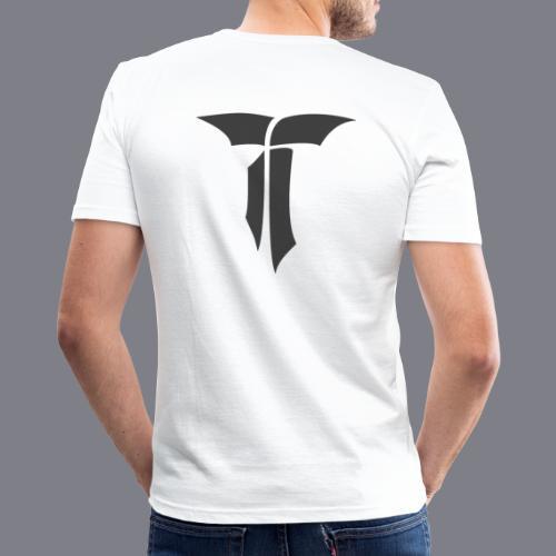 SIGNET Grau - Männer Slim Fit T-Shirt