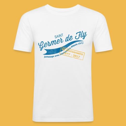 40 Jahre Städtepartnerschaft - Männer Slim Fit T-Shirt