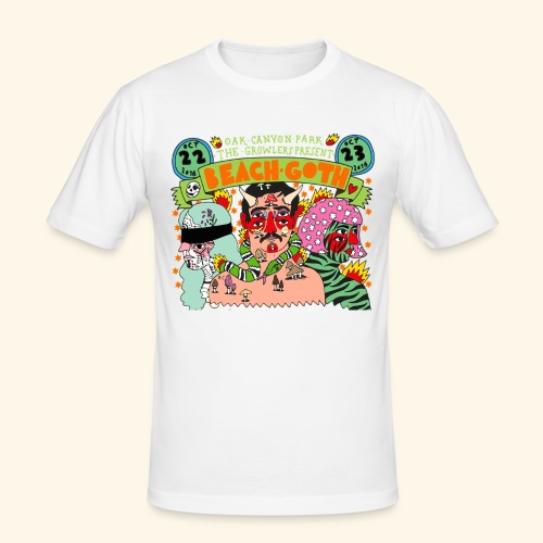 beach goth 2016 - T-shirt près du corps Homme