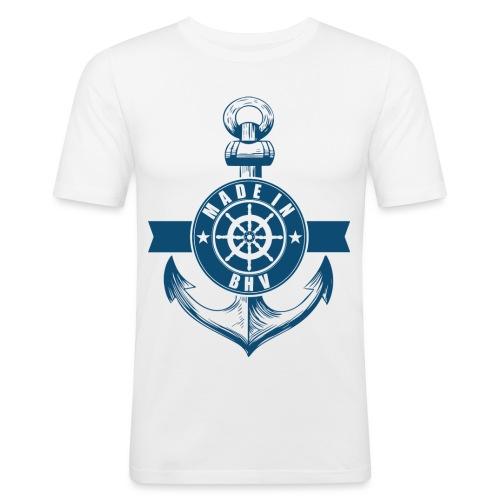 Made in BHV - Männer Slim Fit T-Shirt