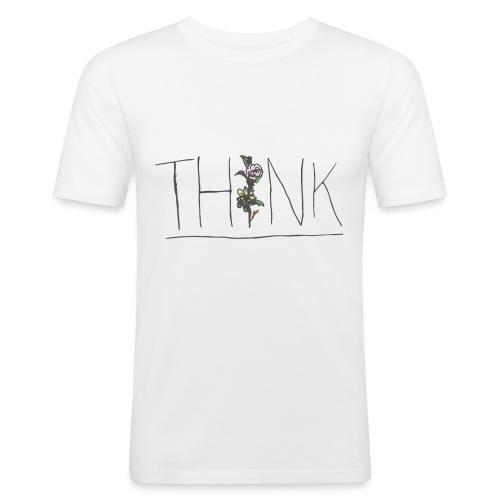 THINK - Men's Slim Fit T-Shirt