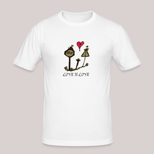 Love is Love - Men's Slim Fit T-Shirt