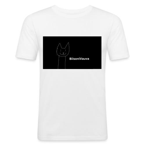 biisonivauva - Miesten tyköistuva t-paita