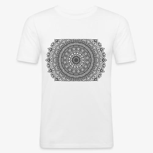 mandala3 - Men's Slim Fit T-Shirt