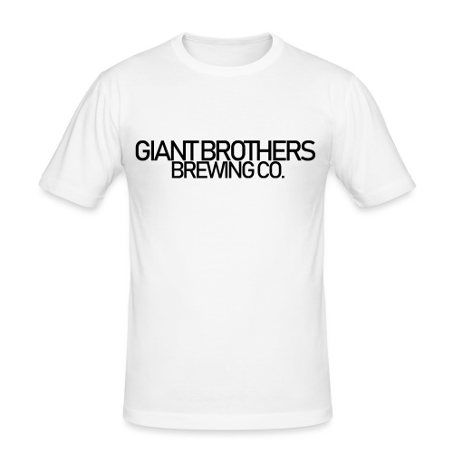 Giant Brothers Brewing co SVART - Slim Fit T-shirt herr